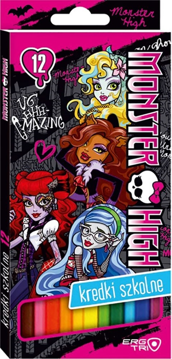 Picture of MONSTER HIGH colored pencils