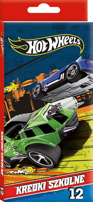 Picture of  HOT WHEELS colored pencils 1-12