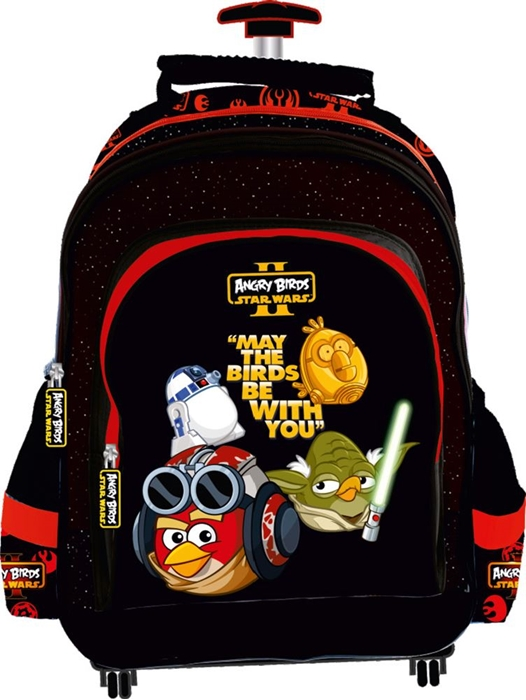 Picture of ANGRY BIRDS rolling school backpack