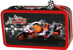 Picture of RACING MACHINES double tier pencil case