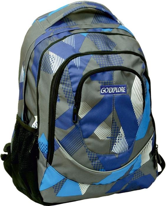 Picture of GO EXPLORE SATURN backpack plavo-sivi
