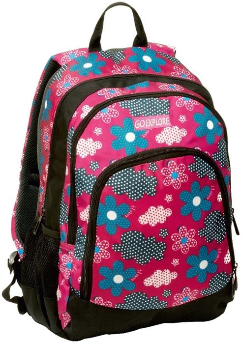 Slika od GO EXPLORE TITAN ruksak cvijetni