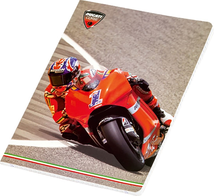 Picture of DUCATI A5 notebook grid paper 1-10