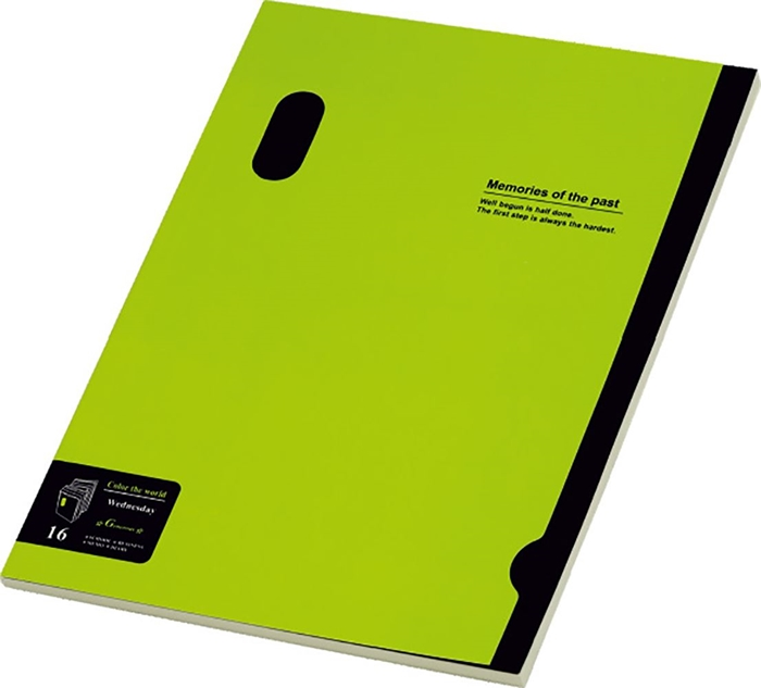 Picture of MEMORIES B5 notebook line paper 1-6