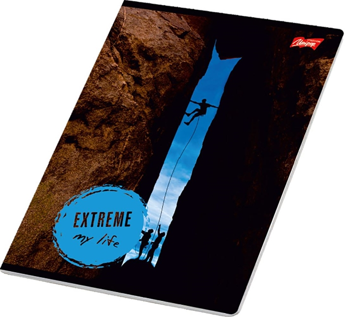 Picture of EXTREME A4 notebook line paper 1-12