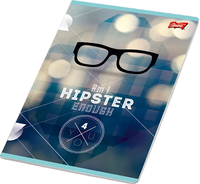 Picture of HIPSTER A4 notebook line paper 1-12