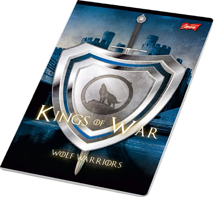 Picture of KINGS OF WAR A4 notebook plain paper 1-12