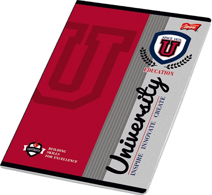 Picture of UNIVERSITY A4 notebook plain paper 1-12