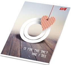 Slika od LOVE bilježnica A4 čista 1-12