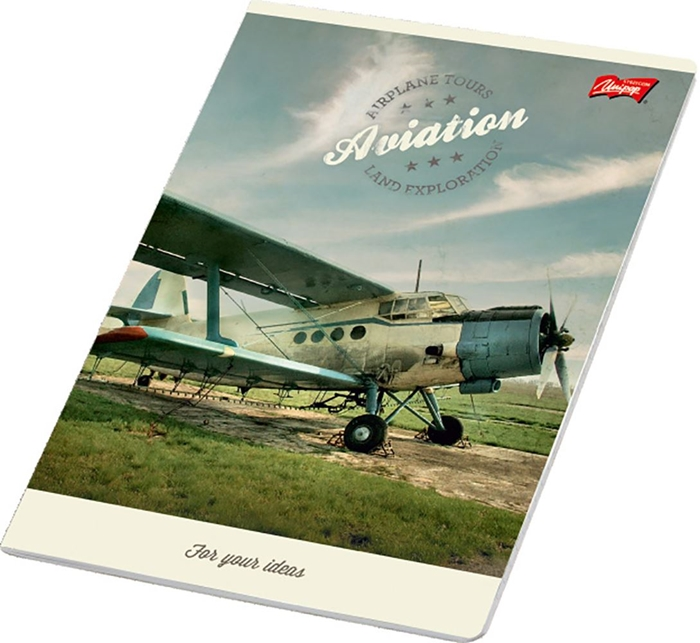 Picture of FOR YOUR IDEAS A4 notebook plain paper 1-12