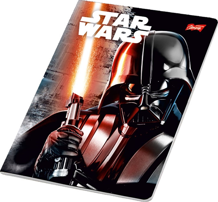 Picture of STAR WARS A4 notebook grid paper 1-12