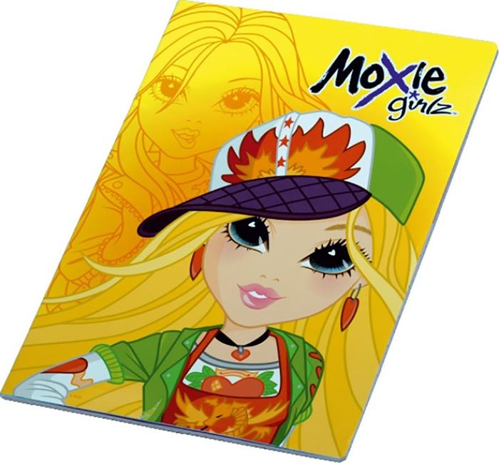 Slika od MOXIE GIRLZ bilježnica A4 kocke 1-12