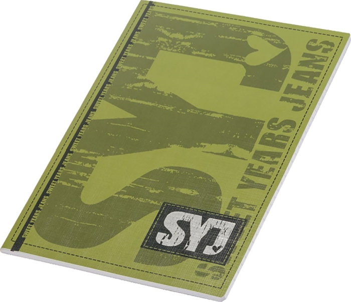 Picture of SWEET YEARS A4 notebook line paper 1-12