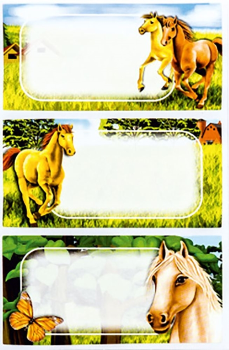 Slika od ŠKOLSKE NALJEPNICE blister 9 kom – izložbena kutija 48 kom