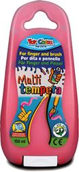 Picture of TOY COLOR finger and brush tempera 150 ml - red