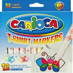 Slika od CARIOCA CROMATEX 1-12 flomaster za tekstil