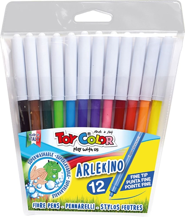 Picture of TOY COLOR ARLEKINO superwashable Color Pen 1-12