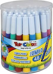 Slika od TOY COLOR JUMBO lakoperivi flomaster 1-48