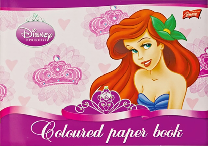 Picture of COLOURED PAPER BOOK glosy 10 - sheets 4 - designs