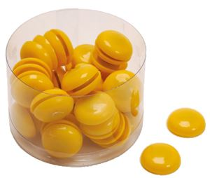 Picture of MAGNETS yellow 1-50