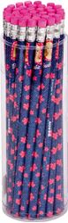Picture of BARBIE PRINCESS HB pencil ruber band1-36