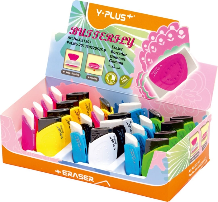 Picture of ERASER Butterfly 1-24
