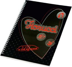 Picture of FIORUCCI FASHION spiral notebook A4 line paper – 60 sheets