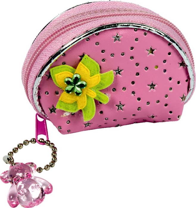 Picture of PURSE-WALLET Kirakira with tags – exhibition stand 36 pieces