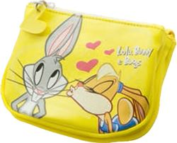 Picture of LOLA BUNNY & BUGS wallet 2 section 14,5x11x3,5 cm