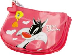 Picture of TWEETY & SYLVESTER wallet 2 section 14,5x11x3,5 cm