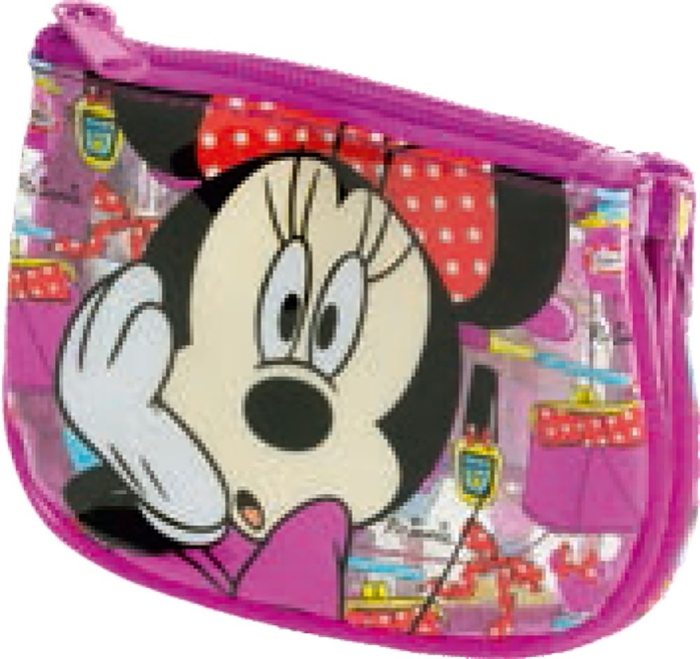 Picture of MINNIE MAKE UP wallet 2 section 14,5x11x3,5 cm