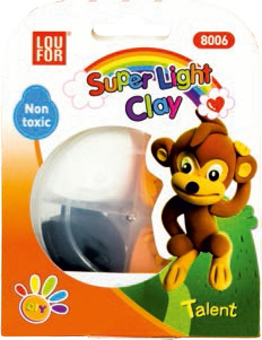 Picture of PLAY-DOH super light – the cups with 4 colors – blister packaging