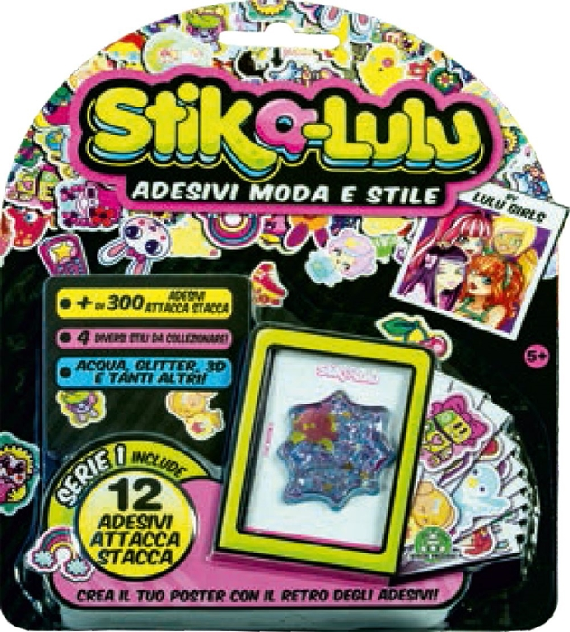 Picture of STIK-A-LULU stickers blister 12 PCs