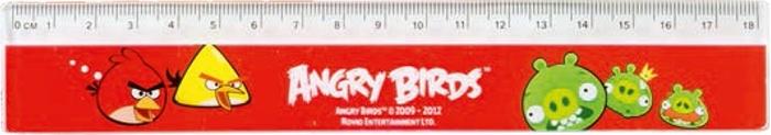 Slika od ANGRY BIRDS ravnalo 18 cm