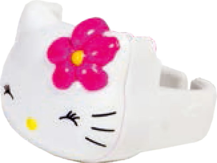 Picture of HELLO KITTY ring with makeup