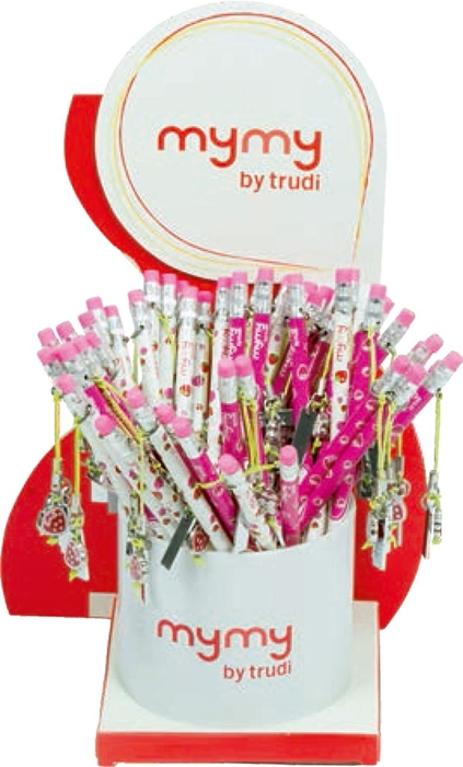 Picture of TRUDY HB pencil with a metal pendant 1/48