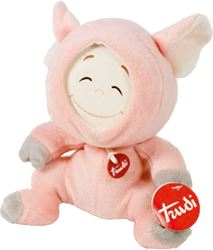 Picture of TRUDI plush toy PIGLET