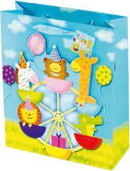 Slika od UKRASNA VREĆICA cirkus large 42x30x12,1 cm
