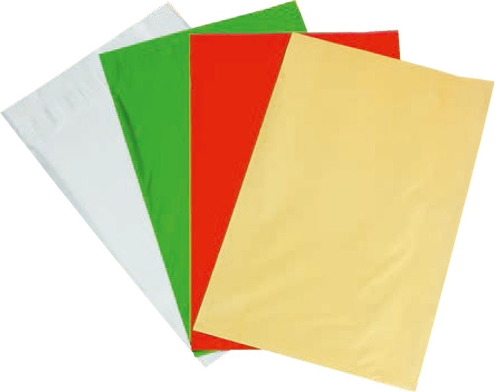 Picture of CELLOPHANE bags 4 colors 1/40, 21x16,1 cm