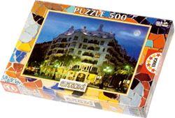 Slika od PUZZLE 500 kom – La Pedrera, Gaudi