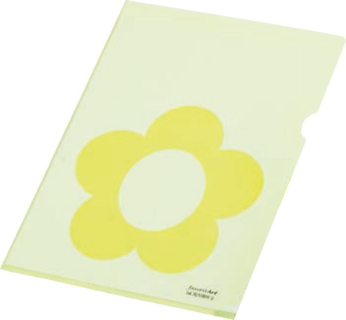 Picture of Punched pocket L - love, linear 1/10