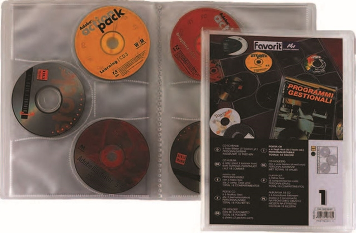 Picture of The folders for the CD with variable cover sheet