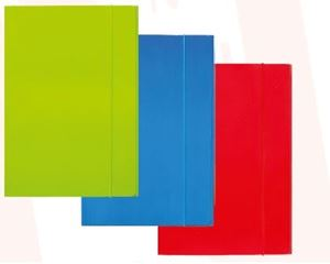 Slika od FASCIKL A4 s gumicom – plastificirani karton