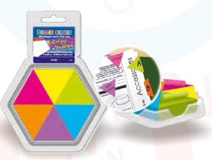 Slika od SAMOLJEPLJIVI označivač stranica - trokutasti 43x50 mm