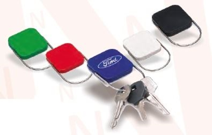 Picture of Key ring lock - White
