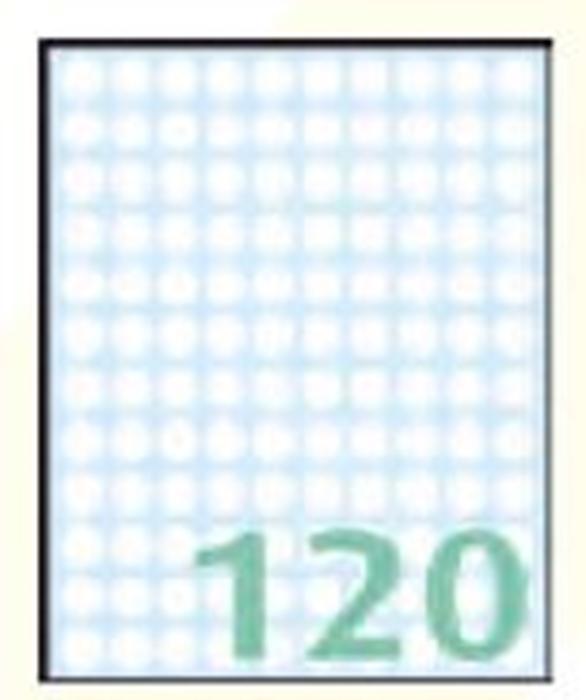 Slika od SAMOLJEPLJIVE etikete Export 10 mm – 10 listova, 120 na listu