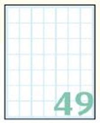 Slika od SAMOLJEPLJIVE etikete Export 19x14 mm – 10 listova, 49 na listu