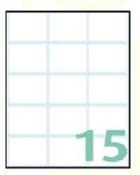 Slika od SAMOLJEPLJIVE etikete Export 38x25 mm – 10 listova, 15 na listu