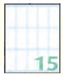 Slika od SAMOLJEPLJIVE etikete Export 46x22 mm – 10 listova, 15 na listu