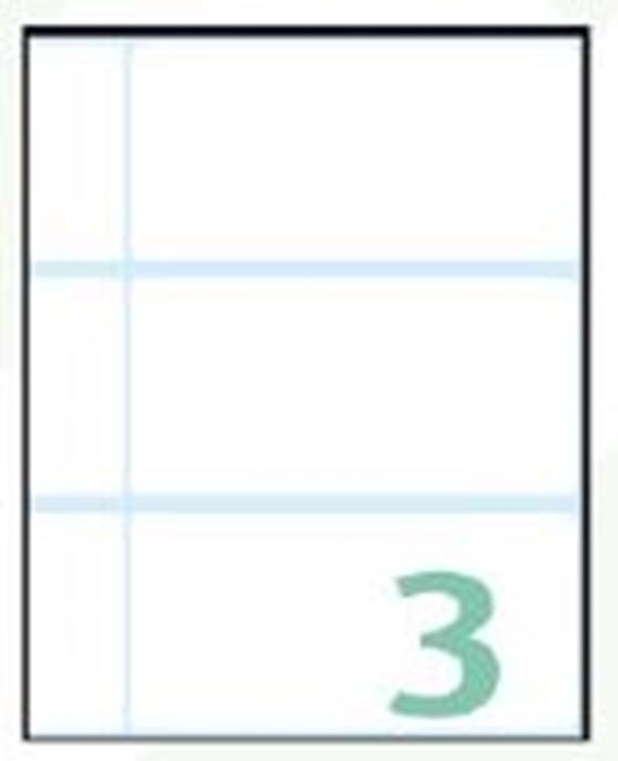 Slika od SAMOLJEPLJIVE etikete Export 100x48 mm – 10 listova, 3 na listu
